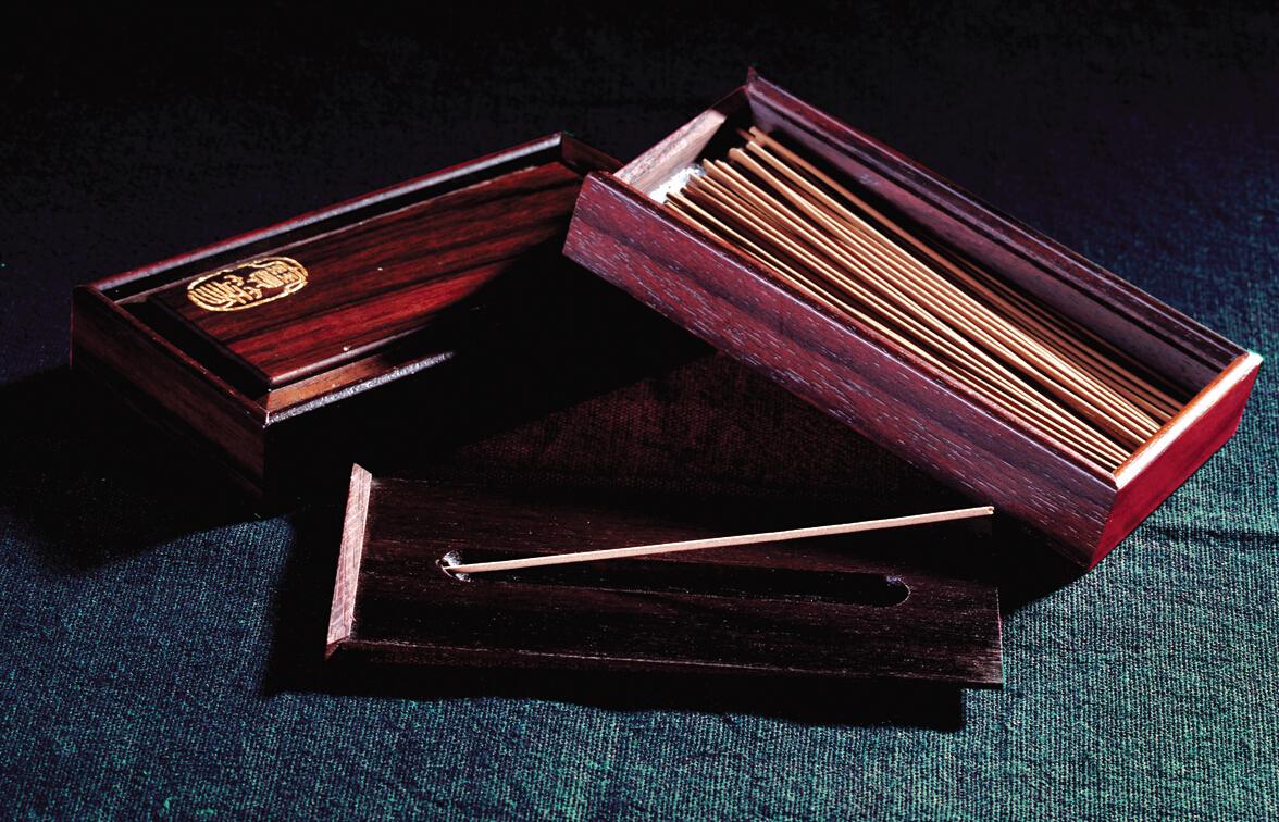 宝篆沉香  沉香线香3.5寸木盒装 台湾工艺值得信赖